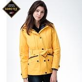 內外配色女款GORETEX二合一內搭撥水羽絨外套1120(黃色) FOX FRIEND