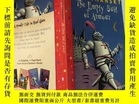 二手書博民逛書店the罕見empty suit of armour 空盔甲 ~Y200392