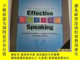 二手書博民逛書店effective罕見speaking有效的演講Y23583 e
