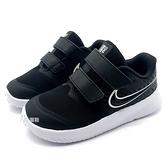 《7+1童鞋》小童 NIKE STAR RUNNER 2 (TDV) 輕量網布透氣 運動鞋 慢跑鞋 G859 黑色