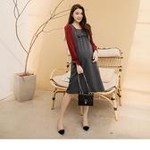 《MA0344》優雅後綁帶縮腰純棉孕婦裝/背心裙 OrangeBear