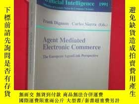 二手書博民逛書店Agent罕見Mediated Electronic Comme