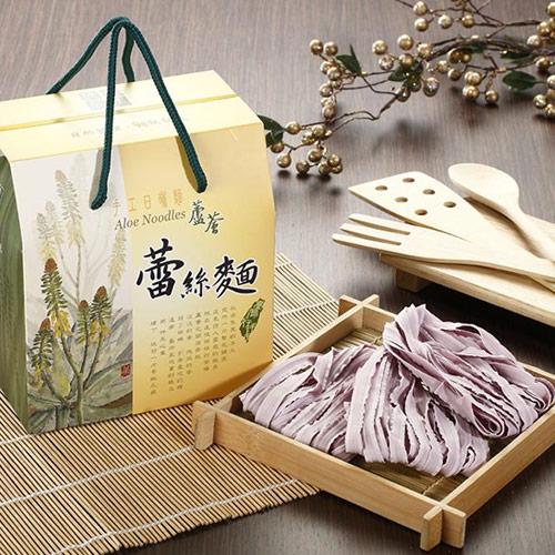 【村家味】蘆薈蕾絲麵 (紫地瓜口味) 600g/盒