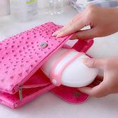 ✭慢思行✭【H56】糖果色環扣式皂盒 香皂 肥皂 洗手台 浴室 彈性 飾品 戒指 收納 旅行 出差