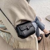 單肩包 高級感小包包女新款單肩斜背包時尚百搭網紅夏天錬條包 米希美衣