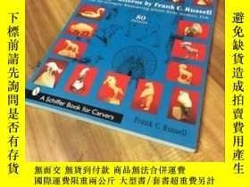 二手書博民逛書店Carving罕見Patterns by Frank C. Ru