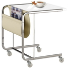【藝匠】白色移動便利桌,移動邊桌,電腦桌,小邊桌,小茶几(三色)