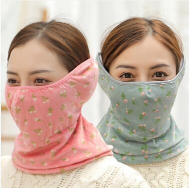 面罩 男女冬季口罩防寒保暖口造罩防塵透氣純棉口耳罩冬天護耳防風面罩 維多原創
