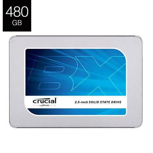 """【兩周限時促銷】Micron 美光 Crucial BX300 480G B MLC 2.5"""" SSD 三年保固"""