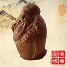 紅豆杉文財神爺佛像 開光招財進寶木雕擺件