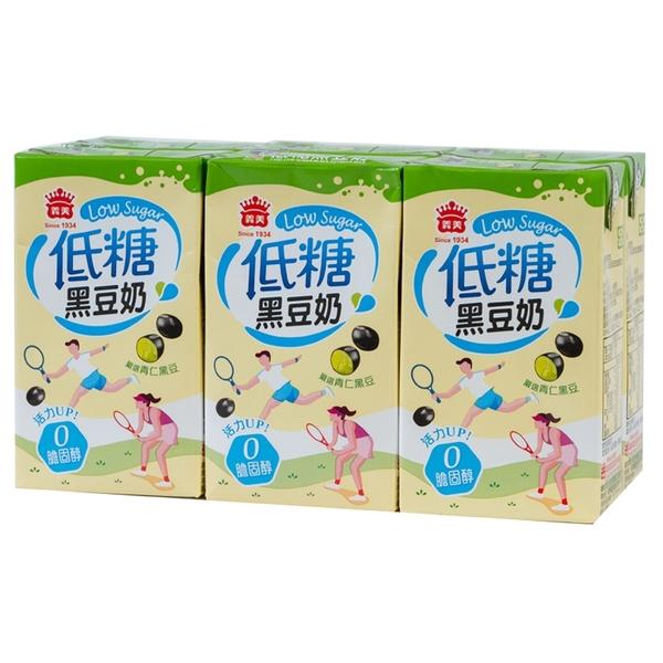 義美低糖黑豆奶250mlX6入