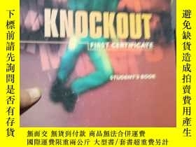 二手書博民逛書店Knockout罕見First Certificate Stud