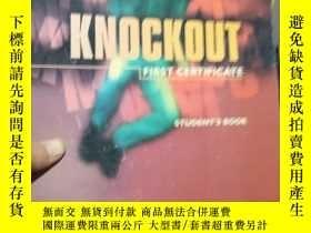 二手書博民逛書店Knockout罕見First Certificate Stud