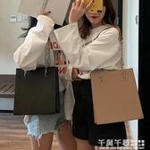 手提包 高級感大容量女大包包新款韓版百搭簡約單肩時尚手提包托特包 夢幻衣都