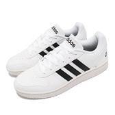 【海外限定】adidas 休閒鞋 Hoops 2.0 白 黑 NEO 男鞋 復古籃球鞋 愛迪達 運動鞋 【ACS】 FY8629