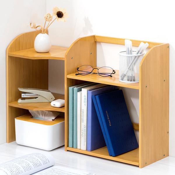 楠竹桌面置物架C款 檯面架 桌上型置物架 文具雜物收納架【Y10285】快樂生活網