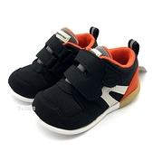 《7+1童鞋》小童 日本月星 MOONSTAR 透氣網布 機能鞋 運動鞋 學步鞋 C457 黑色