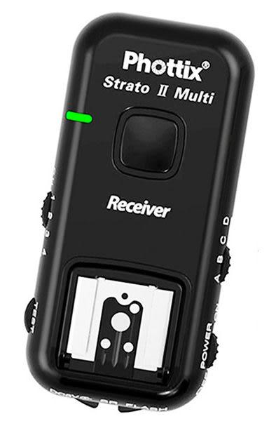 呈現攝影-Phottix Strato II N 無線閃燈觸發器2.4G NIKON 可雙閃 分組 德國名牌 TTL 離機閃 單接收x1