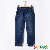 【歲末出清2件999】彈性輕鬆束口褲04牛仔藍-bossini男童