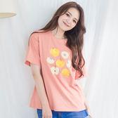 水果印花棉質T-shirt(3色)