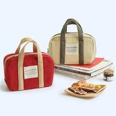 618好康鉅惠迷你小款帆布手提便當包保溫加厚飯盒包