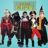 萬圣節兒童服裝男男童超人衣服蝙蝠俠吸血鬼cosplay服忍者海盜