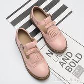 日系公主鞋淺口流蘇蝴蝶結復古娃娃鞋低幫丁字扣森女系小皮鞋『CR水晶鞋坊』