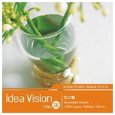 【軟體採Go網】IDEA意念圖庫 IDEA Vision系列(50)花之藝