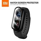 小米手環5/6通用 纖維複合膜 3D曲面保護貼 PMMA+PC複合材料手錶螢幕保護膜 高清高透全覆蓋手環膜