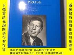 二手書博民逛書店The罕見Complete Works of W. H. Auden Prose Volume III(3). 1
