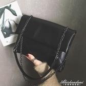 chic小包包女新款潮韓版百搭菱格錬條側背包斜背包信封包 黛尼時尚精品