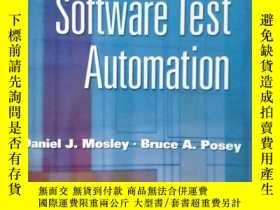 二手書博民逛書店Just罕見Enough Software Test Autom