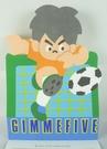 【震撼精品百貨】GIMMEFIVE Sanrio 足球/棒球小子~便條紙