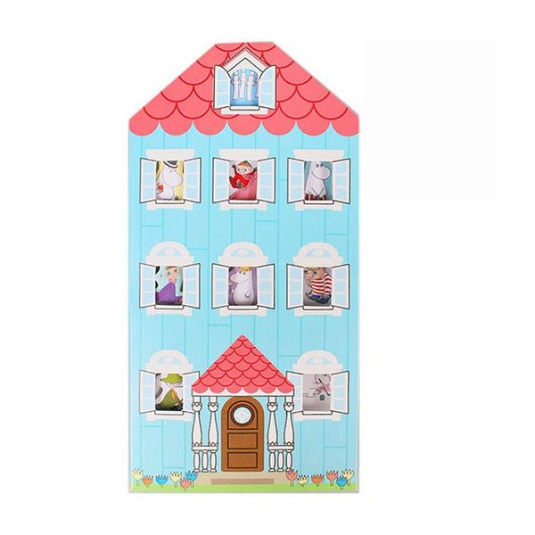 MOOMIN嚕嚕米可愛房屋造型自黏便箋冊(嚕嚕米A)★funbox生活用品★sun-star_UA53180