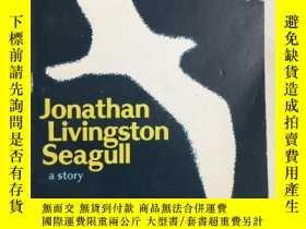 二手書博民逛書店Jonathan罕見Livingston Seagull 英文原