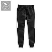 【Roush】 側邊雙白條機能性束口棉褲 -【2025850】