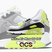 Nike 休閒鞋 Air Max 90 OG Volt 灰 綠 螢光綠 男鞋 經典配色 運動鞋 【ACS】 CD0881-103