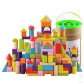 兒童積木玩具1-2-3-6周歲進口櫸木頭大塊益智早教寶寶男孩數字母 街頭潮人