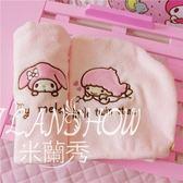 粉色刺繡超強吸水干發帽 米蘭shoe