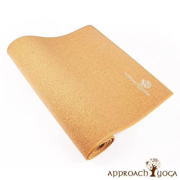Approach Yoga 心之境-天然軟木瑜珈墊(FITNESS Mat)環保軟木材質 栓皮櫟 Cork 瑜伽墊