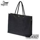 手提袋-編織袋(L)-黑-01C...