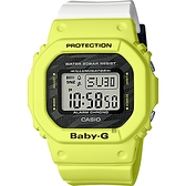 CASIO 卡西歐 Baby-G LIGHTING YELLOW SERIES戶外運動計時手錶 BGD-560TG-9