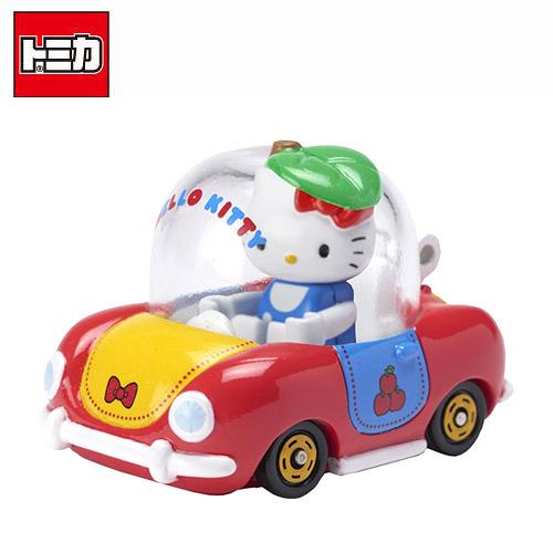 【日本正版】TOMICA 騎乘系列 R02 凱蒂貓 x Apple Car Hello Kitty 多美小汽車 - 887317