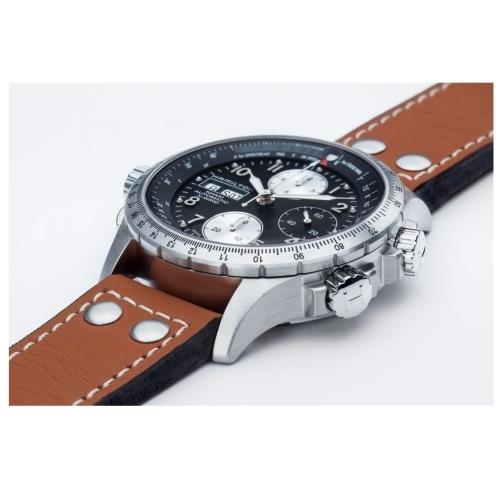 HAMILTON漢米爾頓Khaki航空系列X-WIND機械錶/H77616533