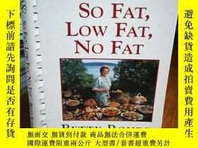 二手書博民逛書店Italian罕見So Fat, Low Fat, No Fat