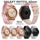 【直紋腕帶】Samsung Galaxy Watch 42mm/Watch3 41mm 智慧手錶替換帶/運動手環/手錶錶帶/20mm-ZW