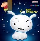 韓國Krispy Kreme x蠟筆小新小白 觸碰式夜燈