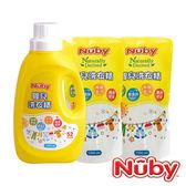 【愛吾兒】Nuby 嬰兒洗衣精組合包 1罐2包