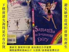 二手書博民逛書店rainbow罕見magic Samantha the swimming fairy 彩虹魔術遊泳仙女薩曼莎..