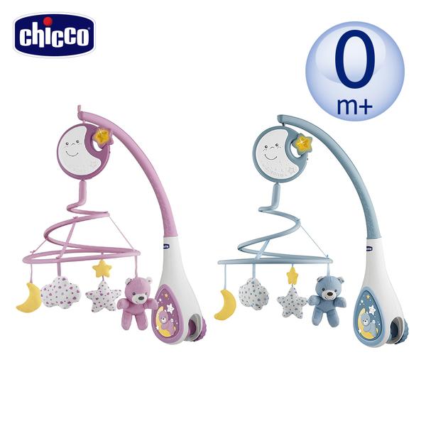 chicco-多功能床頭古典音樂鈴-2色